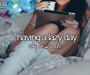 girl, Lazy, and starbucks image