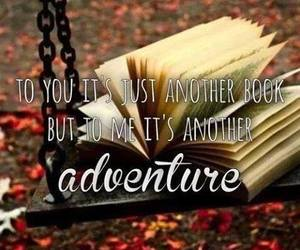 book, adventure, and reading image