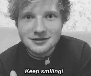 ed sheeran, smile, and ed image
