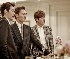 the heirs, kim woo bin, and lee min ho image