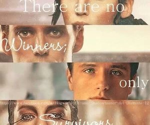 peeta, catching fire, and katniss image