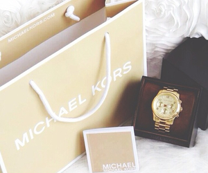 Michael Kors, watch, and fashion image