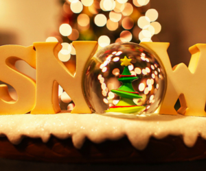 christmas, lovely, and snow globe image