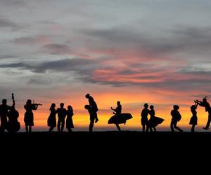 dance, folk, and hungary image