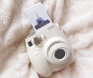 camera, girl, and paris image