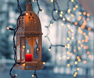 candle, lights, and lovely image
