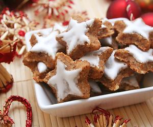 christmas, Cookies, and stars image