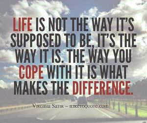 life, difference, and quotes image