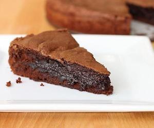 cake, chocolate, and brownies image