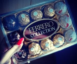 boyfriend, sweets, and ferrero rocher image