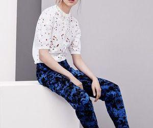 beauty, blue pants, and fashion photograpfy image