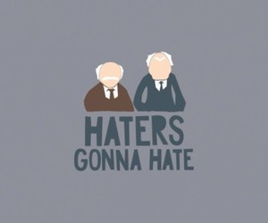 haters, hate, and muppets image