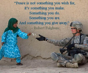 life, peace, and quote image