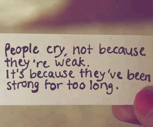 cry, truth, and strong image
