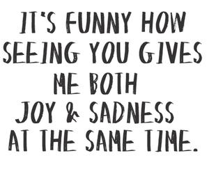 joy, sadness, and quote image