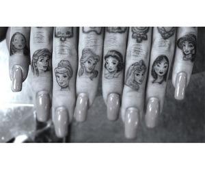 tattoo, disney, and princess image
