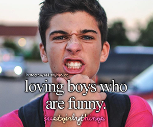 boy, funny, and quote image