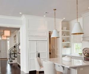 kitchen, beautiful, and decor image