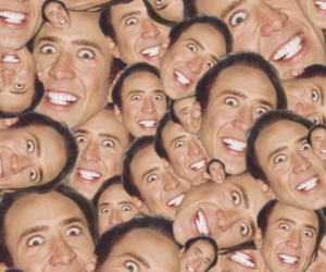 nicolas cage and funny image