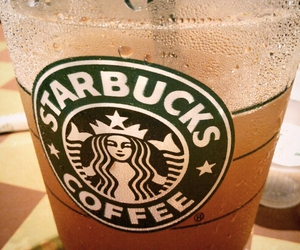 coffee, lovely, and starbucks image