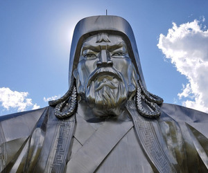 architecture, genghis khan, and mongolia image