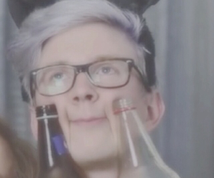 tyler oakley, funny, and youtuber image