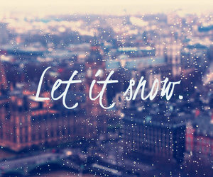 snow, winter, and wish image