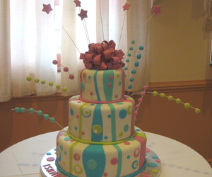 cake, colorful, and creative image
