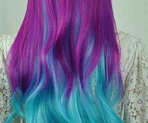 blue, teen, and colorful image