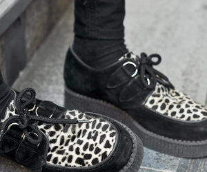 creepers, goth, and gothic image