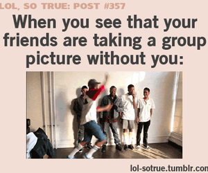 lol, true, and friends image