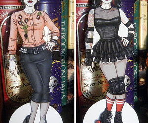 paper dolls, psychobilly, and roller derby image