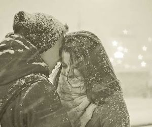 couple, december, and cute image
