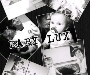 baby lux, pic collage, and cute image