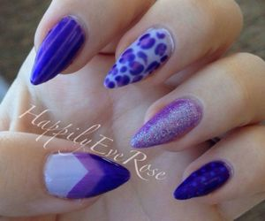 leopard and purple image