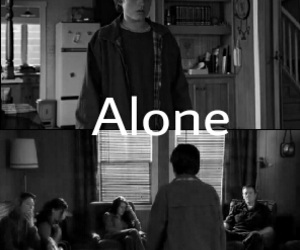 alone, death, and jesse image