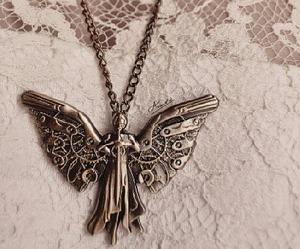 tessa gray, clockwork angel, and necklace image