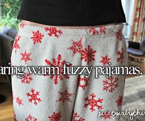 pajamas and fuzzy image