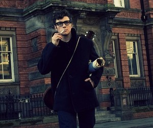 aaron johnson, babe, and cigarette image