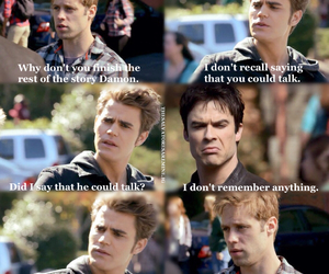 the vampire diaries, funny, and paul wesley image