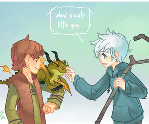 jack frost, httyd, and rotg image