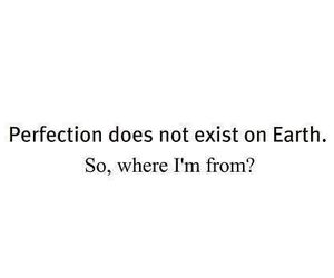 perfection, earth, and quote image