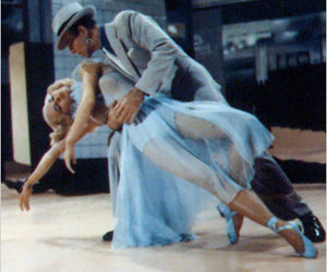 blonde, Cyd Charisse, and dance image