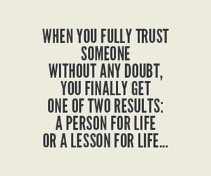 lesson, life, and trust image