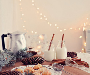 biscuits, decor, and lights image