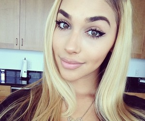 blonde, beauty, and hair image
