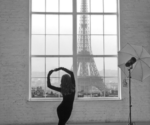paris, dance, and black and white image