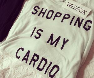 shopping, fashion, and cardio image