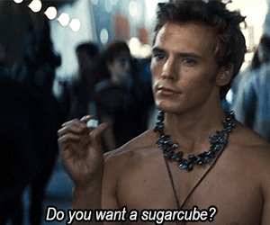 finnick odair, catching fire, and sugarcube image