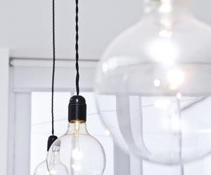 white, bulb, and interior image